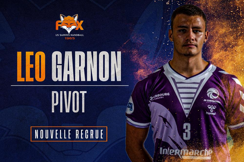 Léo Garnon, nouvelle recrue !