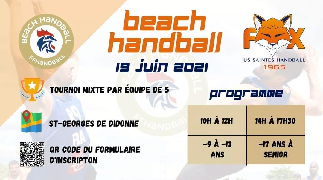 Tournoi Beach Handball