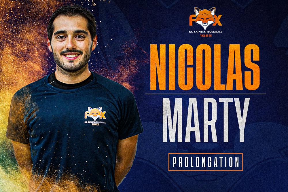 Prolongation pour Nico Marty !
