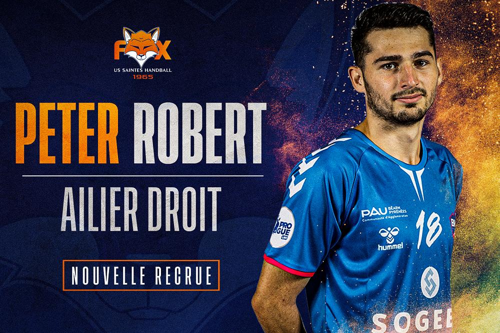 Peter Robert, de Billère à Saintes !